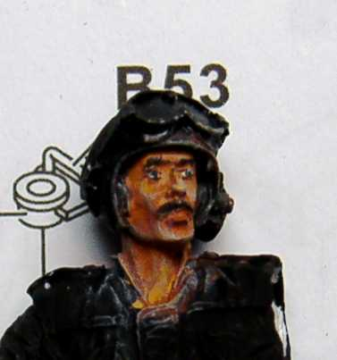 1:35 M42A1 Duster - oficer