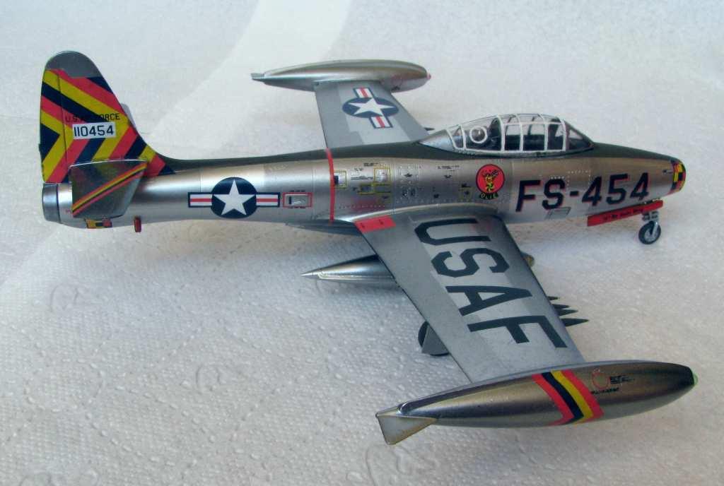 Hobby Boss 1:72 F-84G Thunderjet by Pawel